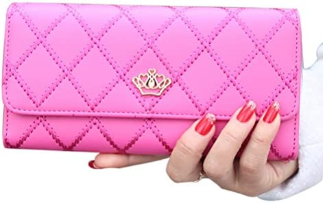 LEORX Cartera Monedero embrague bolso de largo elegante moda ...