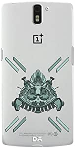 DailyObjects Steampunk Mask Clear Case For OnePlus One