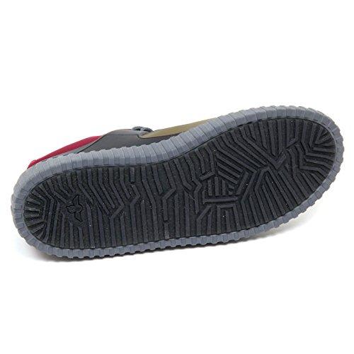 without Sneaker Blu Creative Uomo Shoe verde Recreation Man Blu D4684 Box black green Sqfx1qRw