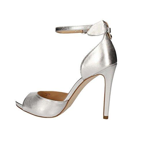 Women Guess Sandal Guess Silver FLAML2LEM03 FLAML2LEM03 wIZRfqn77