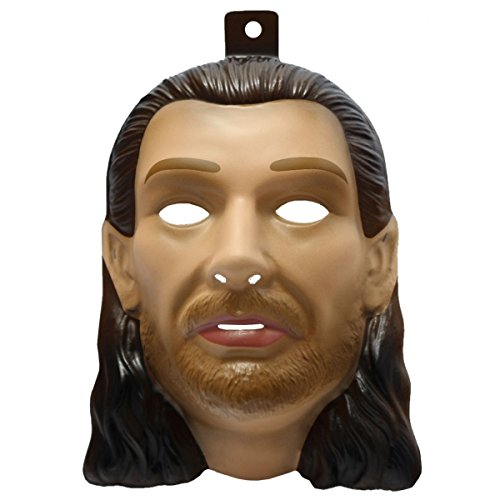 Qui Gon Jinn Mask Costume Mask (Chief Indian Princess Costume)