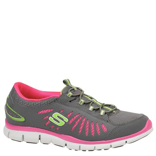 Gray Donna Gratis nbsp;big pink idea Skechers Sneaker aZRXwq