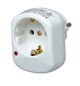 Kopp 171302011 - Enchufe Intermedio con protección contra sobrecarga