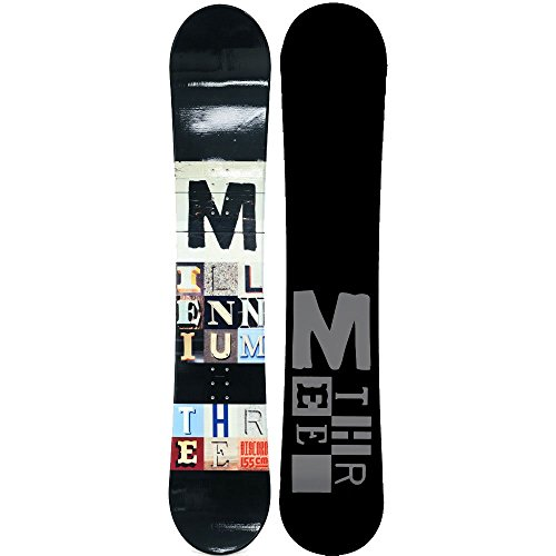 M3 Discord Snowboard Black 160cm