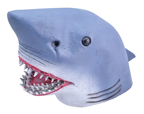 Bristol Novelty BM450 Shark Mask, One Size