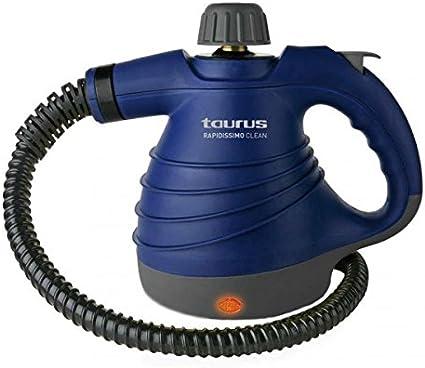 Vaporeta Taurus Rapidissimo Clean New 3 bar 0,350 L 1050W Azul: Amazon.es: Hogar