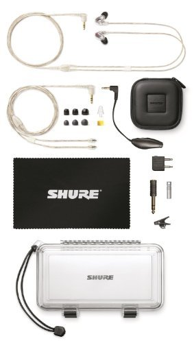 Shure-SE846-Quad-Driver-Earphones-w-Y-Cable-Music-Phone-Cable-CBL-M-K-EFS-for-Iphone