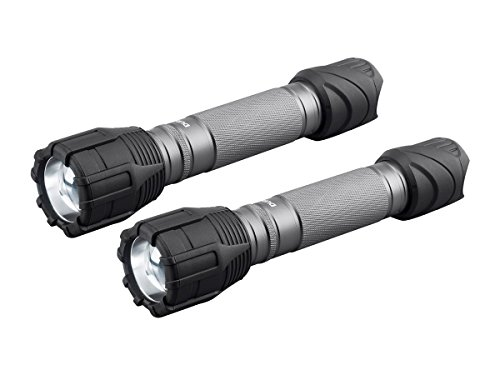 Beam Flashlight Hyper (Duracell 700 Lumen Flashlight with Zoom 3C (Batteries Included) 2 Pack)