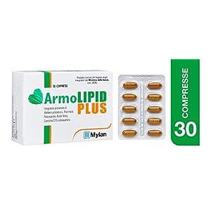 Armolipid Plus integratore alimentare con riso rosso, 30 compresse