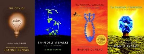 The Books Of Ember: The City of Ember / The People of Sparks / The Prophet of Yonwood / The Diamond of Darkhold