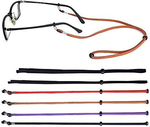 Qinghengyong Sunglasses String Lanyard Holder Glasses Neck Cord,Sunglasses Strap,Adjustable Glasses Strap Neck Cord