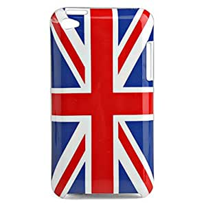TY UK Flag Protective Back Case for iTouch 4