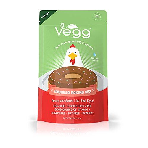 The Vegg - Vegan Egg Baking Mix - 4.2 Oz (34 Eggs) by The Vegg