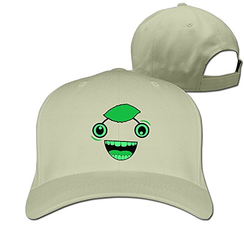 Gua-v-a Juice Fashion Funny Unisex Adults Peaked Cap Baseball Hat Natural