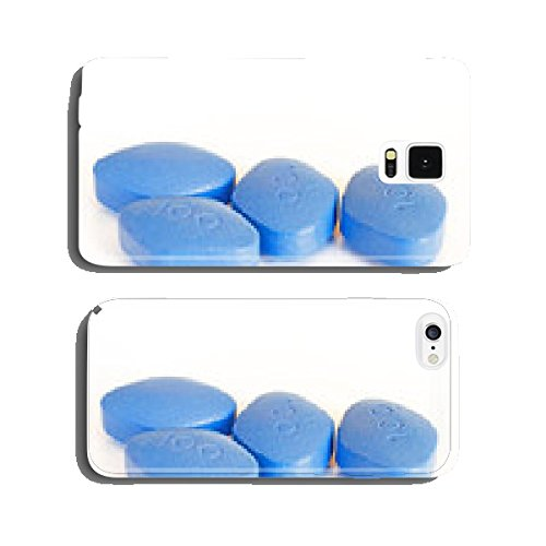 Blue-pills-for-erectile-dysfunction-treatment-white-background-cell-phone-cover-case-iPhone5