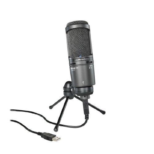 Audio-Technica AT2020USB+ Cardioid Condenser USB Microphone, - At2020 Audio