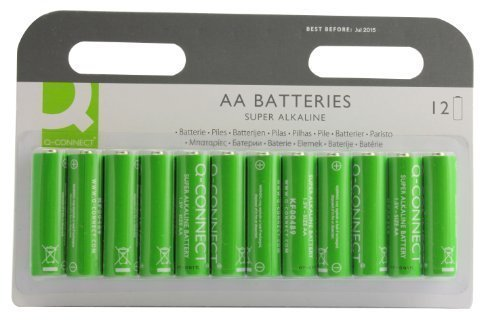 Q Connect AA Battery (Pack Of 12)