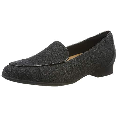 chollos oferta descuentos barato Clarks Un Blush Ease Mocasines Mujer Gris Grey Textile Grey Textile 39 5 EU