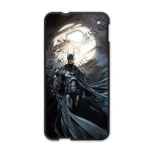 Batman MC43JZ3 funda HTC uno M7 teléfono celular caso funda D7JC6E8PM