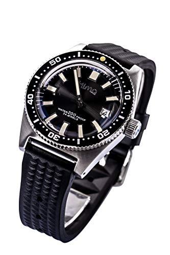 Sharkey Men s Automatic Stainless Steel Diving Watch 62mas Fully lumed Bezel