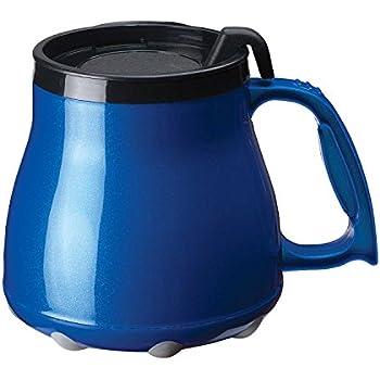 Amazon Com 20 Oz Short Fat Mug Big Flat Bottom Spill