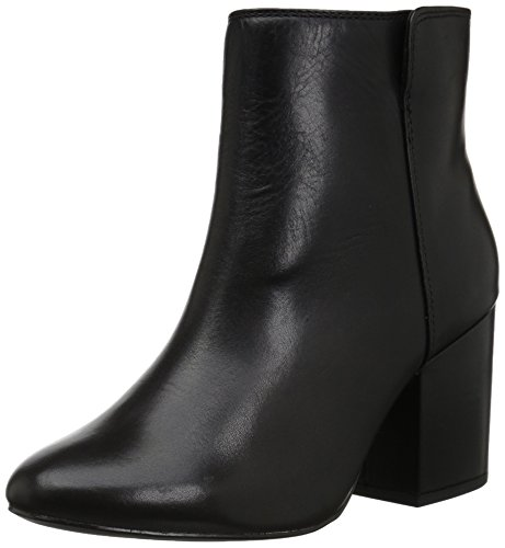 Aldo Women's Masen Ankle Bootie, Black Leather, 6.5 B (Aldo Black Leather)