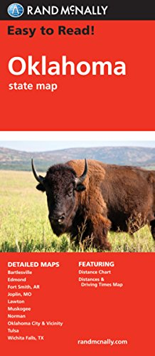 (Easy To Read: Oklahoma (Rand McNally State Maps))