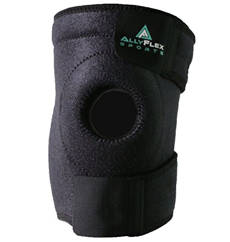 Premium Patella Stabilizer Knee Brace with High Breathable Neoprene and Adjustable Straps for Best Knee Support in Jumper Knee, Meniscus Tear, Arthritis, ACL, Tendonitis, Sports - Single Wrap