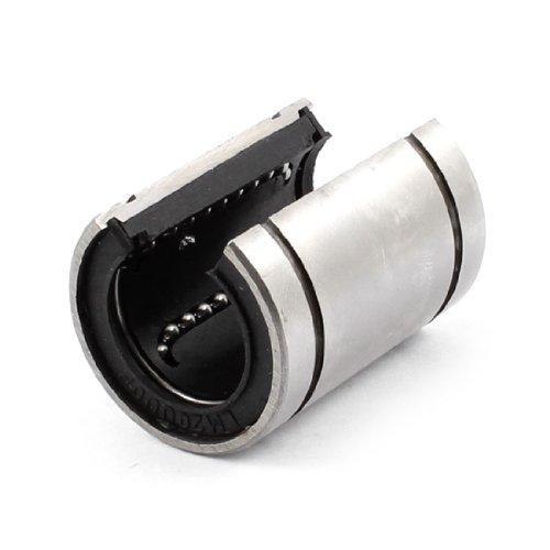 eDealMax LM20UU 32 millimetri Diametro esterno d'argento tono Nero Linear Motion Cuscinetti a sfera