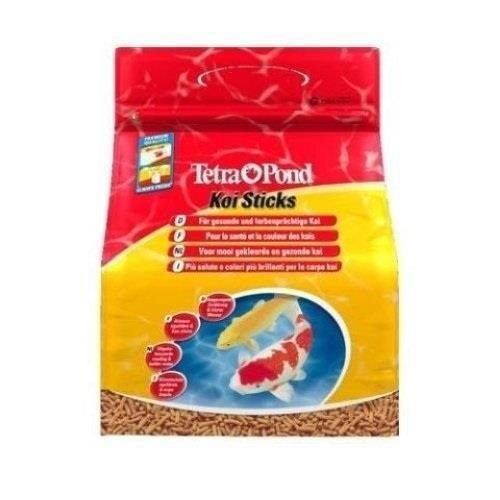 TETRA POND KOI VIBRANCE FISH FOOD 5.18LBS. BAG