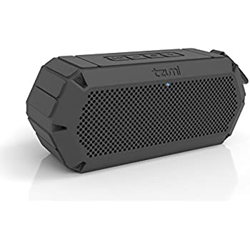 Tzumi AquaBoost Boom Waterproof Bluetooth Speaker – Fully Waterproof And Certified IP68 Floating Speaker for Indoor and Outdoor Use And Perfect For The Beach, Pool, Or Shower