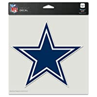"WinCraft NFL Dallas Cowboys Perfect Cut Color Decal, 8"" x 8"""