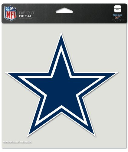 "WinCraft NFL Dallas Cowboys Perfect Cut Color Decal, 8"" x 8"" from WinCraft"