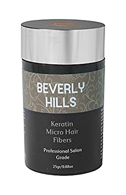 Keratin Hair Fibers by Beverly Hills Hair Building Fibers