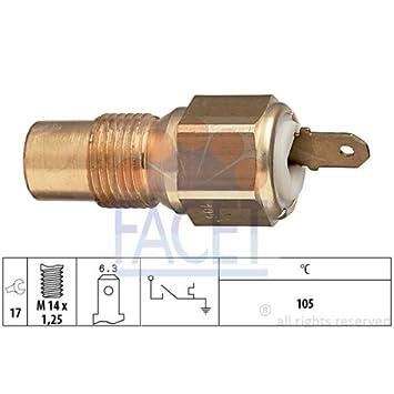 Facet 7.4029 Interruptor de temperatura, testigo de líquido refrigerante: Amazon.es: Coche y moto