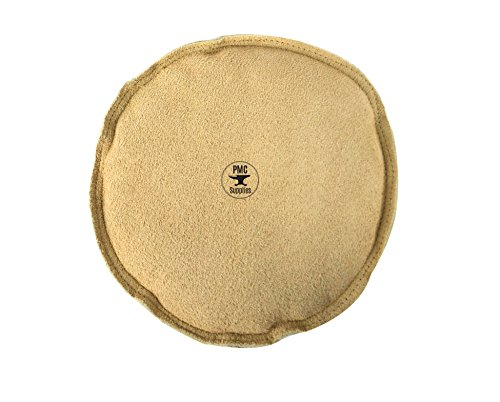 8″ Diameter Leather Sandbag Cushion for Metal Dapping Stamping Hammering Chasing Forming Jewelry Tool