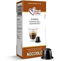 60 Capsule caffè e nocciola Italian Coffee compatibili Nespresso