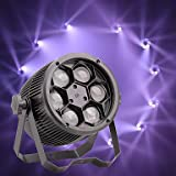 YICIX LED Stage Light/Spot Light/LED Par Lights 8 DMX 512 / Master-Slave/Sound-Activated 80W for Party/Stage/Wedding Professional