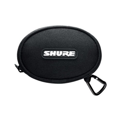 Shure EASCASE Soft Zippered Pouch for All Shure Earphones (Black)