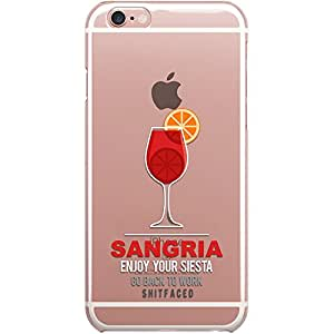 DailyObjects Sangria Clear Case For iPhone 6S