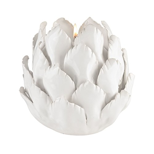 Manhattan Collection Ceramic Artichoke Candle Holder