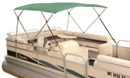 Attwood 379PGN Forest Green 8' x 8' Traditional Fabric Bimini Top by Attwood Marine Products