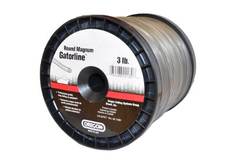 Oregon 22-170 Heavy-Duty Professional Magnum Gatorline Round String Trimmer Line .170-Inch Diameter 3-Pound Spool