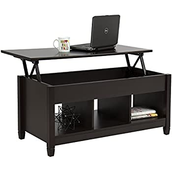 Amazoncom Mainstays LiftTop Coffee Table color Espresso