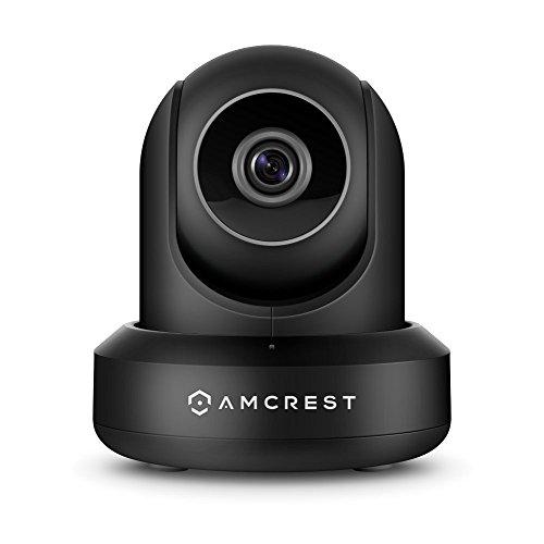 Amcrest ProHD IP2M-841B 1080P Wlan kamera, Überwachungskamera mit Pan / Tilt, Audiofunktion, Cloud Vernindung, 90° Betrachtungswinkel und Nachtsicht (Schwarz)