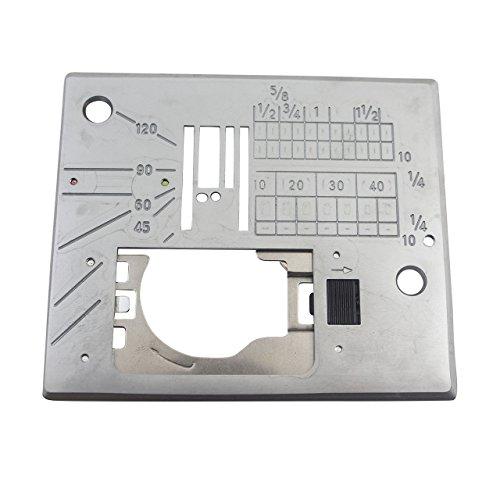 (Janome Straight Stitch Needle Plate Fits models MC6500P & MC6300)