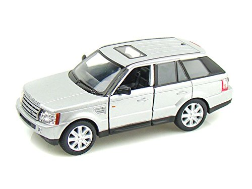 Range Rover Sport 1/38 Silver by Kinsmart Silver Diecast Model Car
