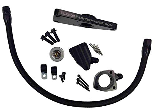 Fleece Performance Engineering FPE-CLNTBYPS-CUMMINS-6.7 Coolant Bypass Kit Compatible with 2007.5-2018 Dodge Ram 6.7 Cummins Diesel