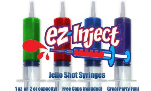 25 unidades de medio balón de EZ-InjectTM natureinks Shot (tamaño ...