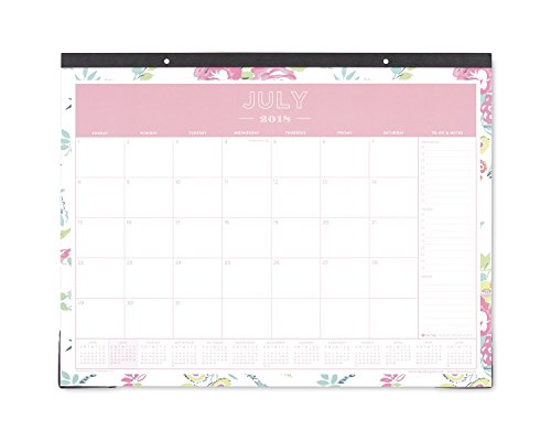 Day Designer for Blue Sky 2018-2019 Academic Year Monthly Desk Pad Calendar, 22